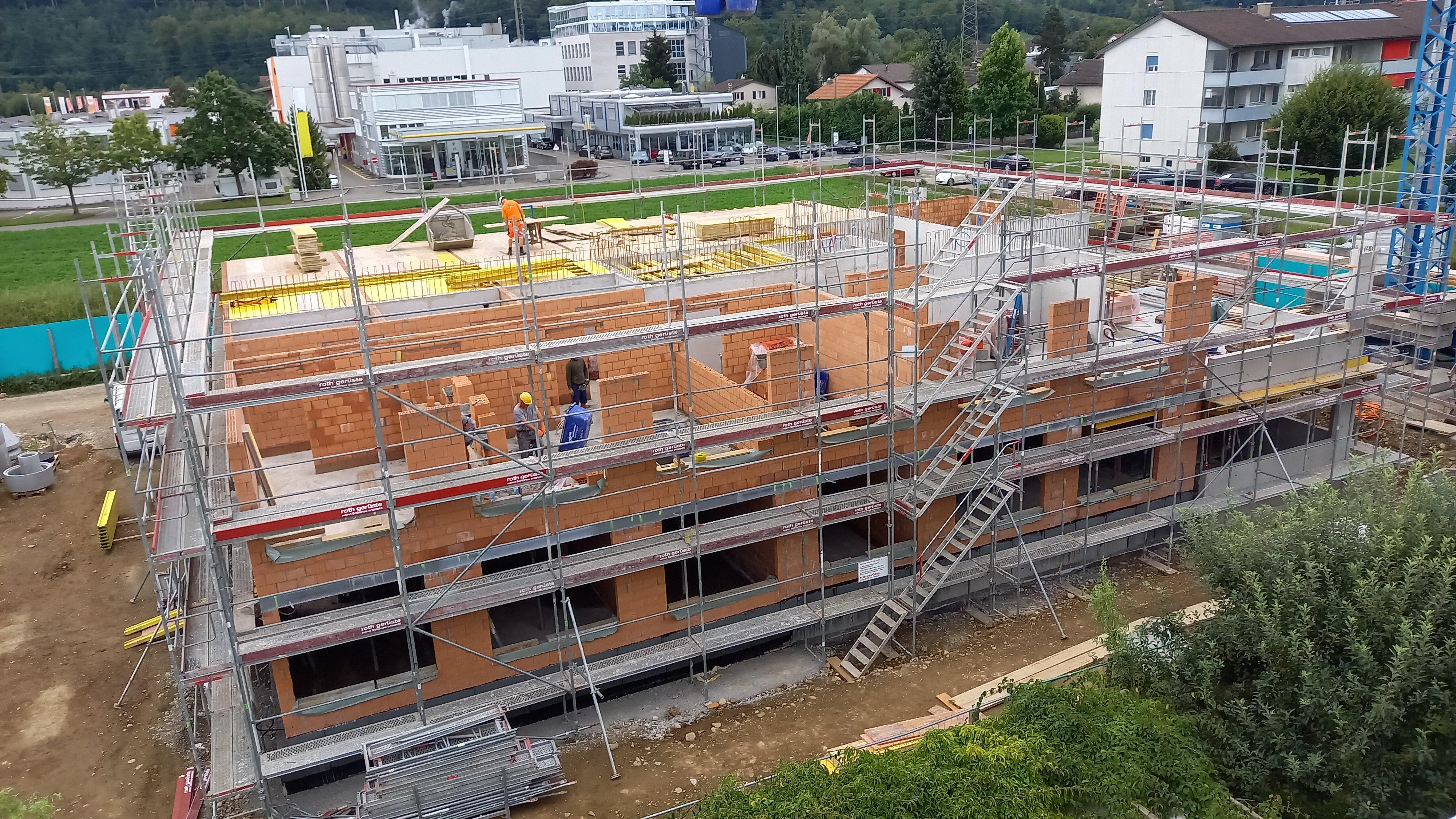 Neubau  Stiftung Orte zum Leben Oberentfelden