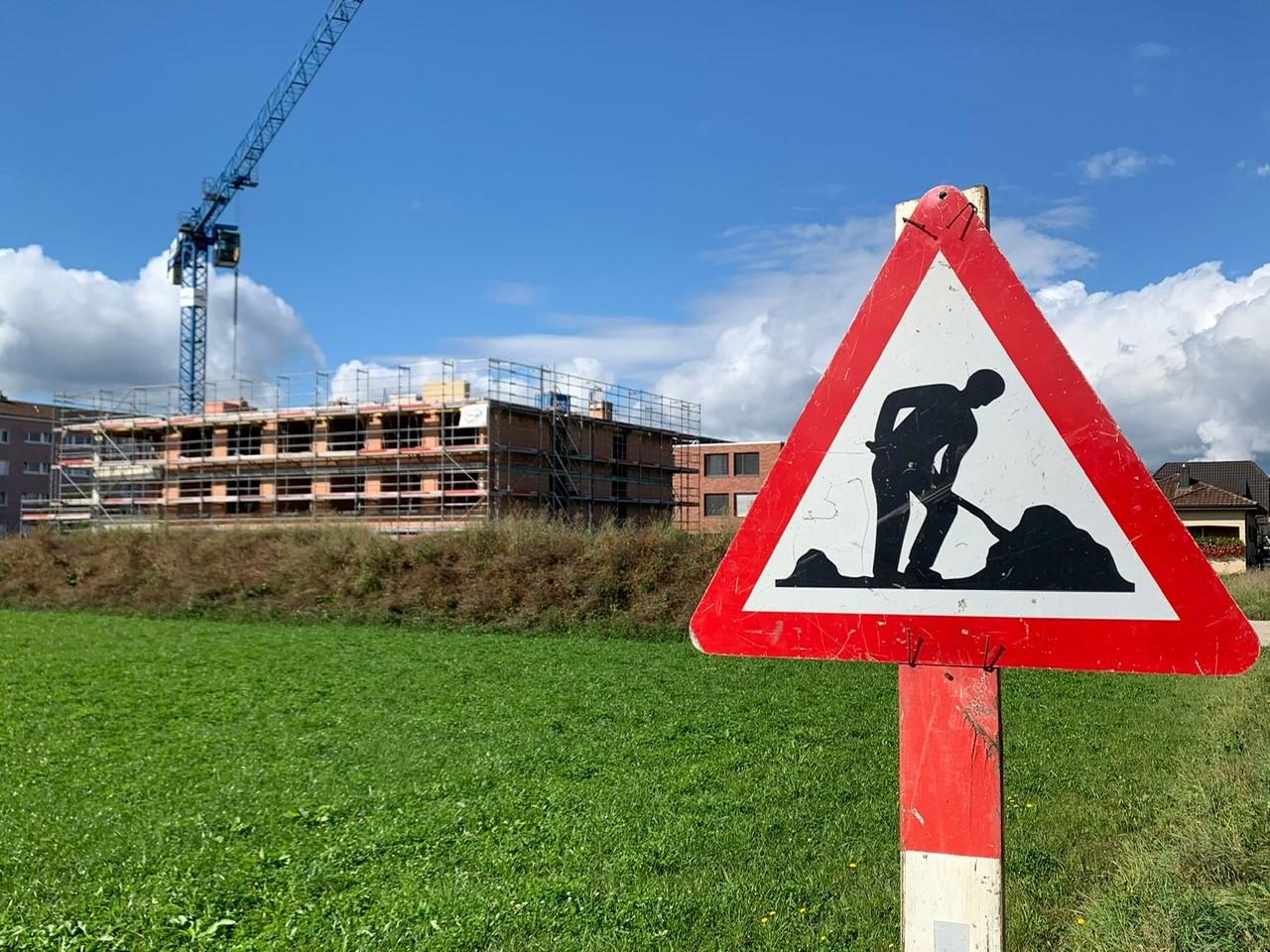 Baustelle Oberentfelden Orte zu Leben
