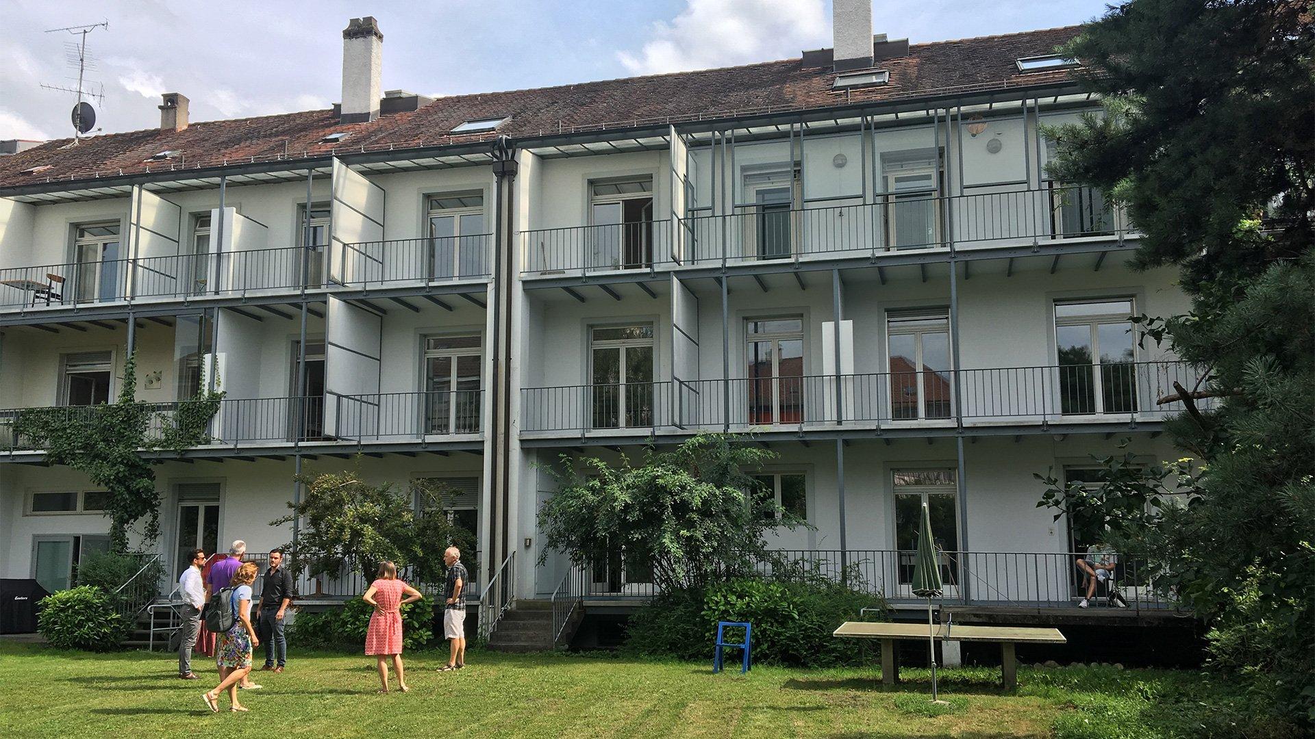 Ziegelhöfen-Gartenseite