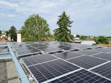 Photovoltaikanlage Ziegelhöfen Basel, Mobile Basel